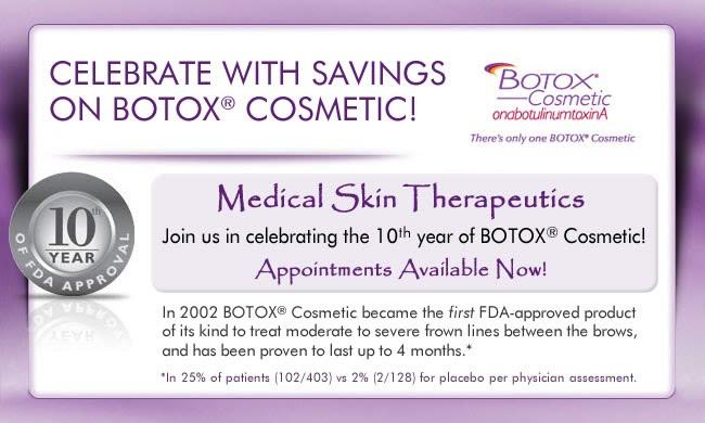 Botox 10 Year Anniversary San Jose